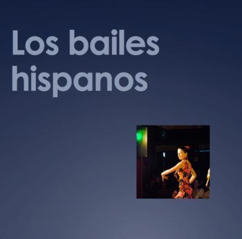 Bailes Hispanos Powerpoint