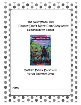Bailey School Kid's Pirates Don't Wear Pink Sunglasses