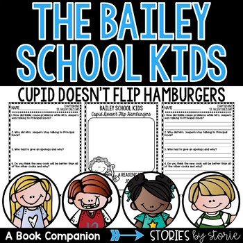Bailey School Kids #12: Cupid Doesn't Flip Hamburgers