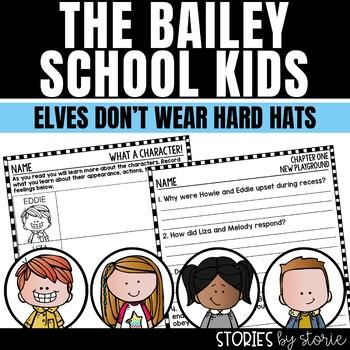 Bailey School Kids #17 Elves Don't Wear Hard Hats