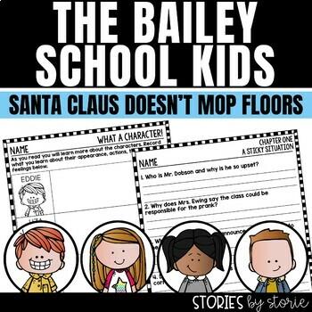Bailey School Kids #3 Santa Claus Doesn't Mop Floors