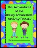 Bailey School Kids Activity Packet