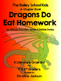 "Bailey School Kids, ""Dragons Do Eat Homework"" Literature Circle & Novel Study"