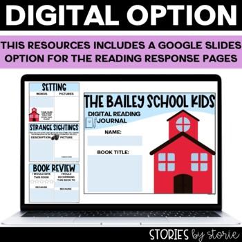 Bailey School Kids Flip Book and School House Craft Response Booklet