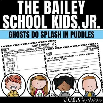 Bailey School Kids Jr. Chapter Book #1 - Ghosts Do Splash in Puddles