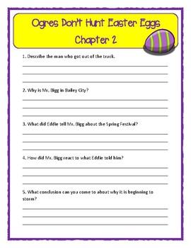 Bailey School Kids OGRES DON'T HUNT EASTER EGGS * Comprehension & Text Evidence