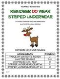 """Bailey School Kids """"Reindeer Do Wear Striped Underwear"""" Novel Unit"""