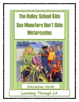 Bailey School Kids - Sea Monsters Don't Ride Motorcycles -