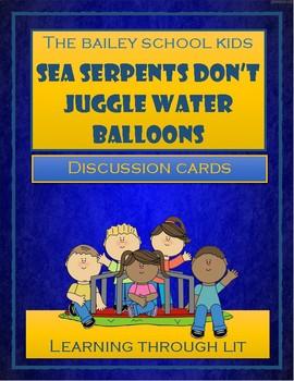 Bailey School Kids SEA SERPENTS DON'T JUGGLE WATER BALLOON
