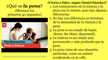Bailo la pena ~ A Story/Song unit for Intermediates