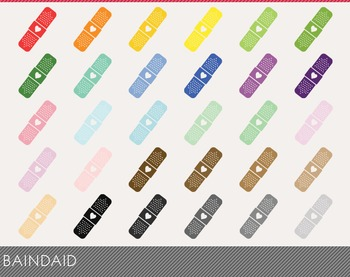 Baindaid Digital Clipart, Baindaid Graphics, Baindaid PNG
