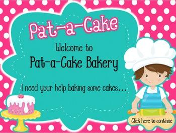 Bake Me a Cake - Interactive Game - Ta-a & Half Rest