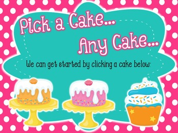 Bake Me a Cake - Interactive Game - Ta-a-a-a & Whole Rest