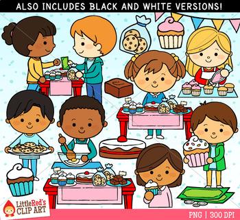 bake sale clipart by littlered teachers pay teachers rh teacherspayteachers com bake sale clipart free bake sale clip art borders
