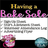 Bake Sale Fundraiser [Valentine] - Sign up - Shift Allotment - Attendance Log