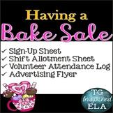 Bake Sale Fundraiser [Valentine] - Sign up - Shift Allotment - Attendance Log