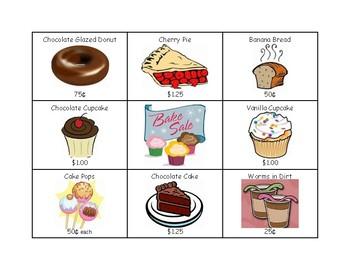 Bake Sale Game