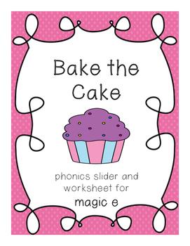 Bake the Cake Magic E Sliders