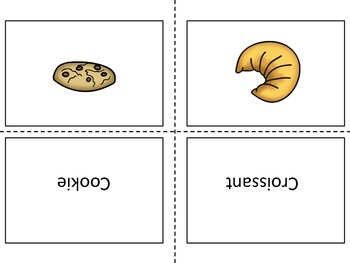 Food Flash Cards (baked goods)