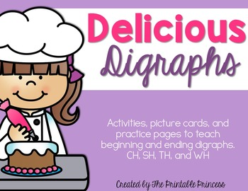 Digraphs {Activities, Centers, and Practice Pages}