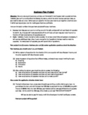 Bakery Business Plan (Systems of Equations Project)