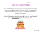 Bakery Bust!- An Equivalent Fraction Mastery Project