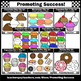 Bakery Clip Art BUNDLE, Cookie Clipart, Donuts, Cupcakes Baked Goods  SPS