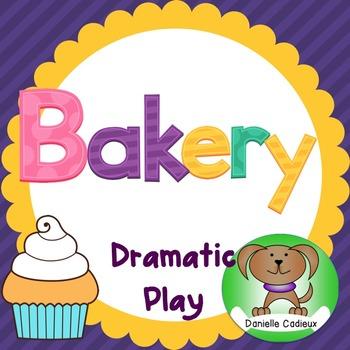 Bakery Dramatic Play Center Kindergarten