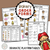 Bakery Dramatic Play Forms