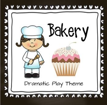 Bakery Dramatic Play Theme