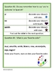 Spanish Basic Phrases, Colors and Numbers Glyph