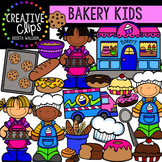 Bakery Kids {Creative Clips Digital Clipart}
