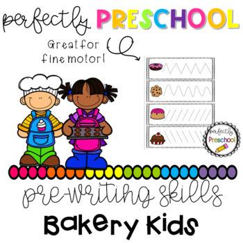 Bakery Kids Prewriting Skills