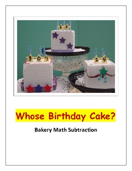 Bakery Math Subtraction