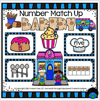 Bakery Number Match Up