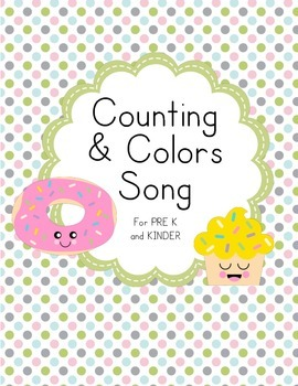 Bakery Shop Counting and Colors Game