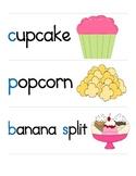 Bakery Shop - Math & Literacy Pocket Chart Activity