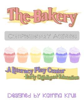 Bakery Themed Literacy Play Centers