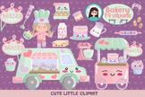 Bakery kawaii clipart