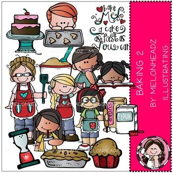 Melonheadz: Baking clip art Part 2 - COMBO PACK