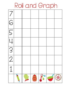 Baking/Christmas Theme Roll and Graph
