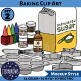 Baking Clip Art, Set 2