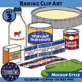 Baking Clip Art, Set 3