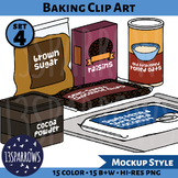 Baking Clip Art, Set 4