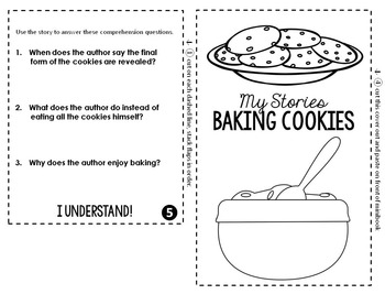 Baking Cookies: An Original Story and Flip Book