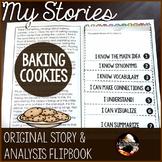 Baking Cookies: An Original Story and Flip Book