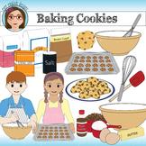 Baking Cookies Clip Art
