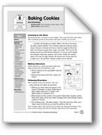 Baking Cookies (Everyday Literacy)