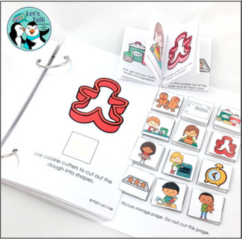 Baking Cookies: Interactive Book Set
