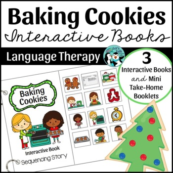 Baking Cookies: Interactive Book Set